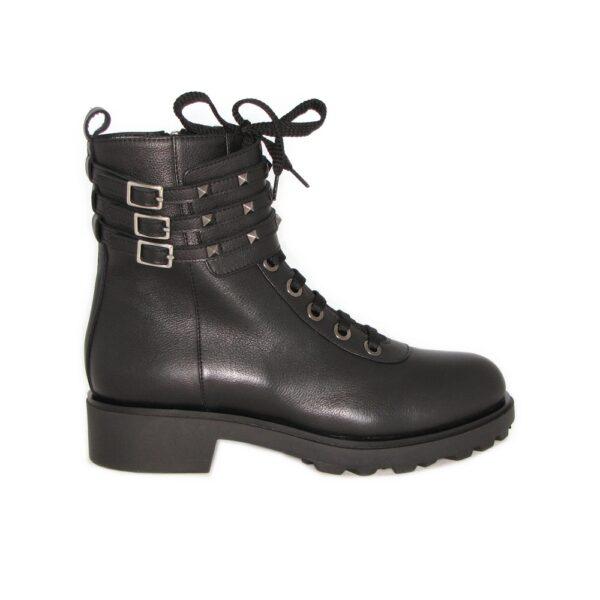 Кожаные осенние ботинки Marino Fabiani