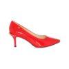 Красные лаковые туфли на шпильке Marino Fabiani