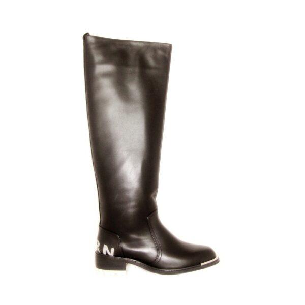 Gianni Renzi Couture кожаные демисезоннеы сапоги