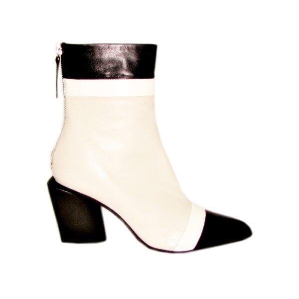 Halmanera кожаные ботинки на каблуке Nunzy 07