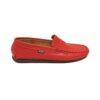 Altanta Mocassin женские красные кожаные мокасины