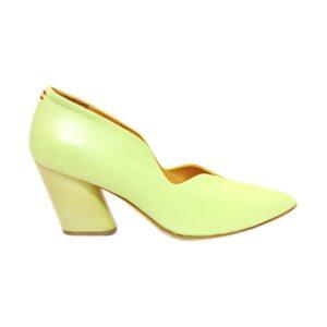 Женские итальянские туфли Halmanera Ivy 69 салатовые