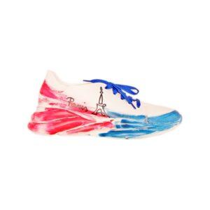 Женские итальянские кроссовки Marino Fabiani белые
