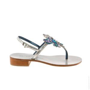 Женские сандалии Paola Fiorenza с бабочкой новая коллекция лето 2021